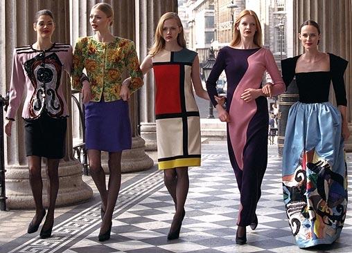 YSL-art-dresses